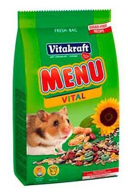 Menu Aroma hamster