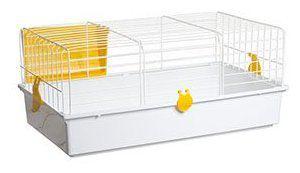 Jaula blanca para conejos 934