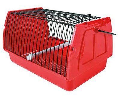 Transportín para pájaros y pequeños roedores
