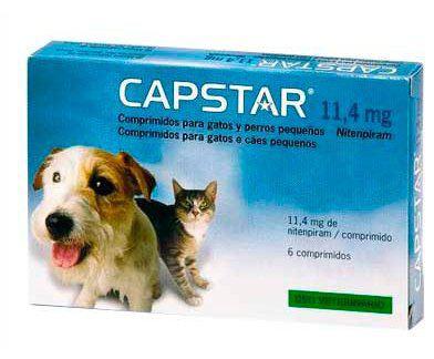 Capstar 11,4 mg para Gatos y Perros Pequeños