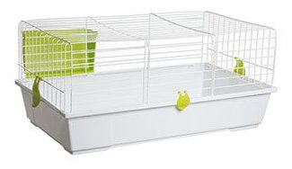 Jaula para conejos 930 Blanca
