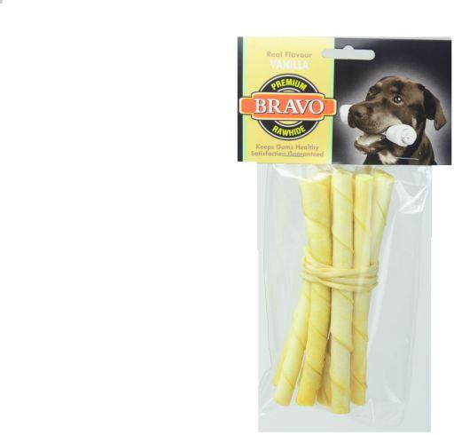 Bravo Palito twist vainilla 5' Pack 10 unidades