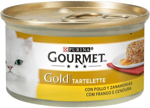 Gold Tartelette de Pollo y Zanahoria