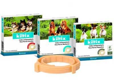 Kiltix Collar antiparasitario para perros