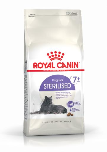Sterilised 7+ Pienso para Gato Sénior Esterilizado