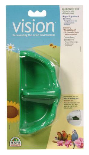 Tazas para Semillas y Agua Verde