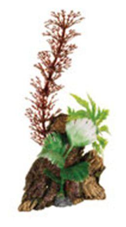 Deco Wood Tronco con Plantas Pequeño