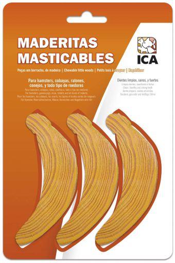 Ica Maderitas Bananas para Roedores 3 Kg