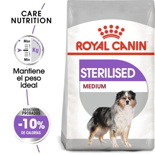 Medium Sterilised Pienso Perro Adulto Esterilizado de Tamaño Mediano