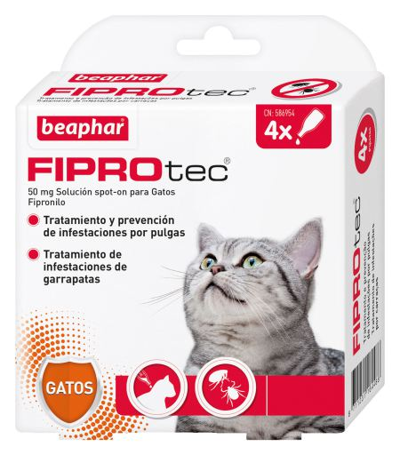 Pipetas Fiprotec para Gatos