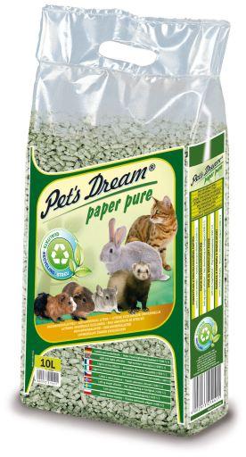 Arena Vegetal de Papel Reciclado para Animales Pequeños