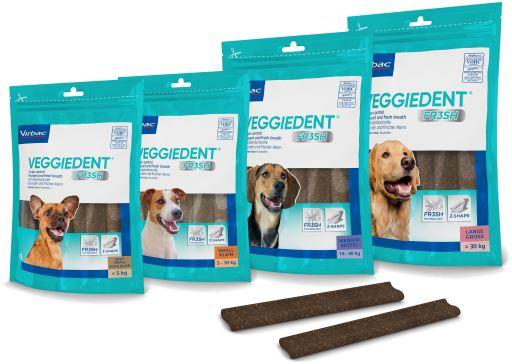 VeggieDent Fresh para Problemas Bocudentales en Perros