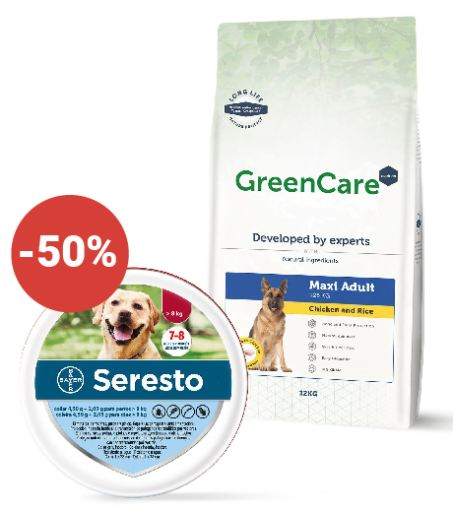 + Greencare Nutrition Adult Maxi Chicken & Rice 12 Kg