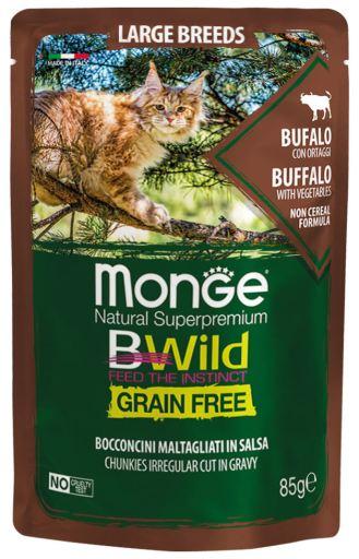 Kitten Bufalo y Verdura Grain Free