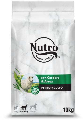 Pienso Natural para Perros Medianos con Cordero y Arroz