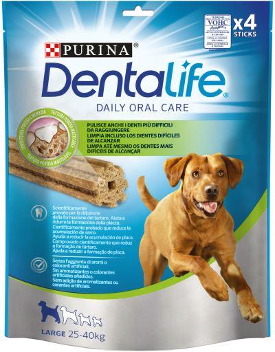 Snack para el Cuidado Bucodental en Perros Grandes de 25 a 40 Kg